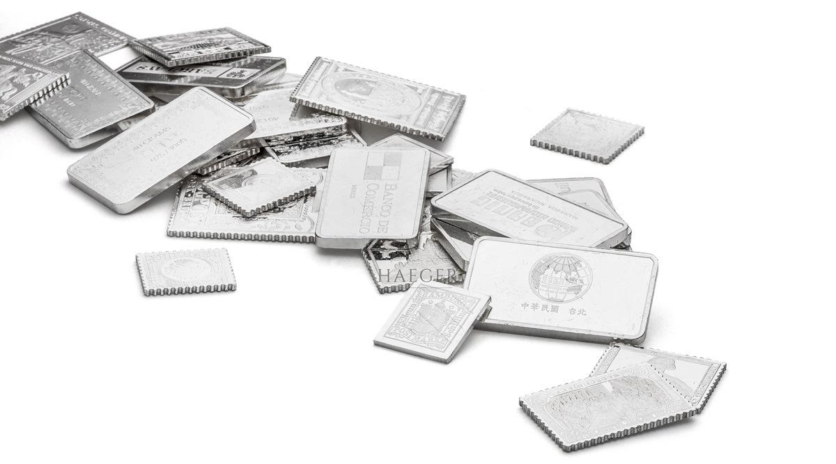 Silberbarren kaufen günstiger
