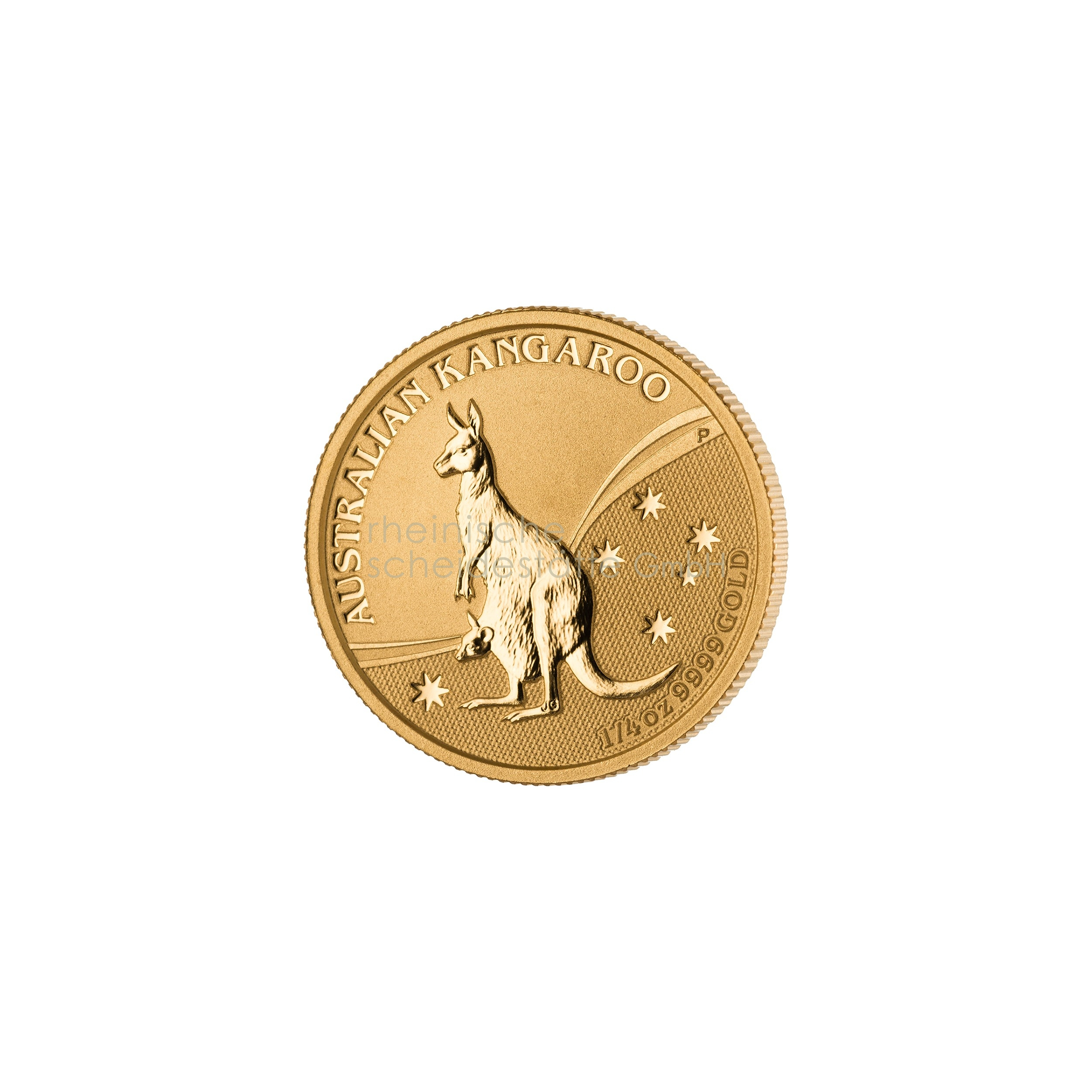 1/4 Unze Australian Kangaroo Goldmünze 1