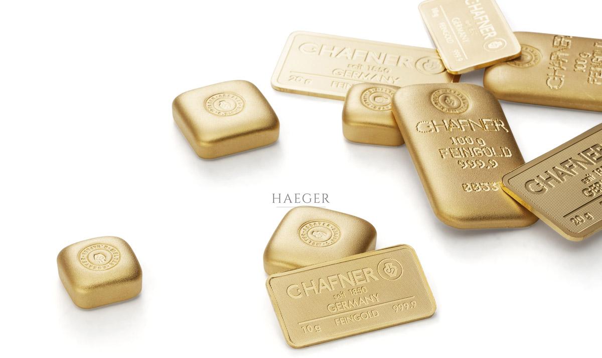 Goldbarren kaufen Bank