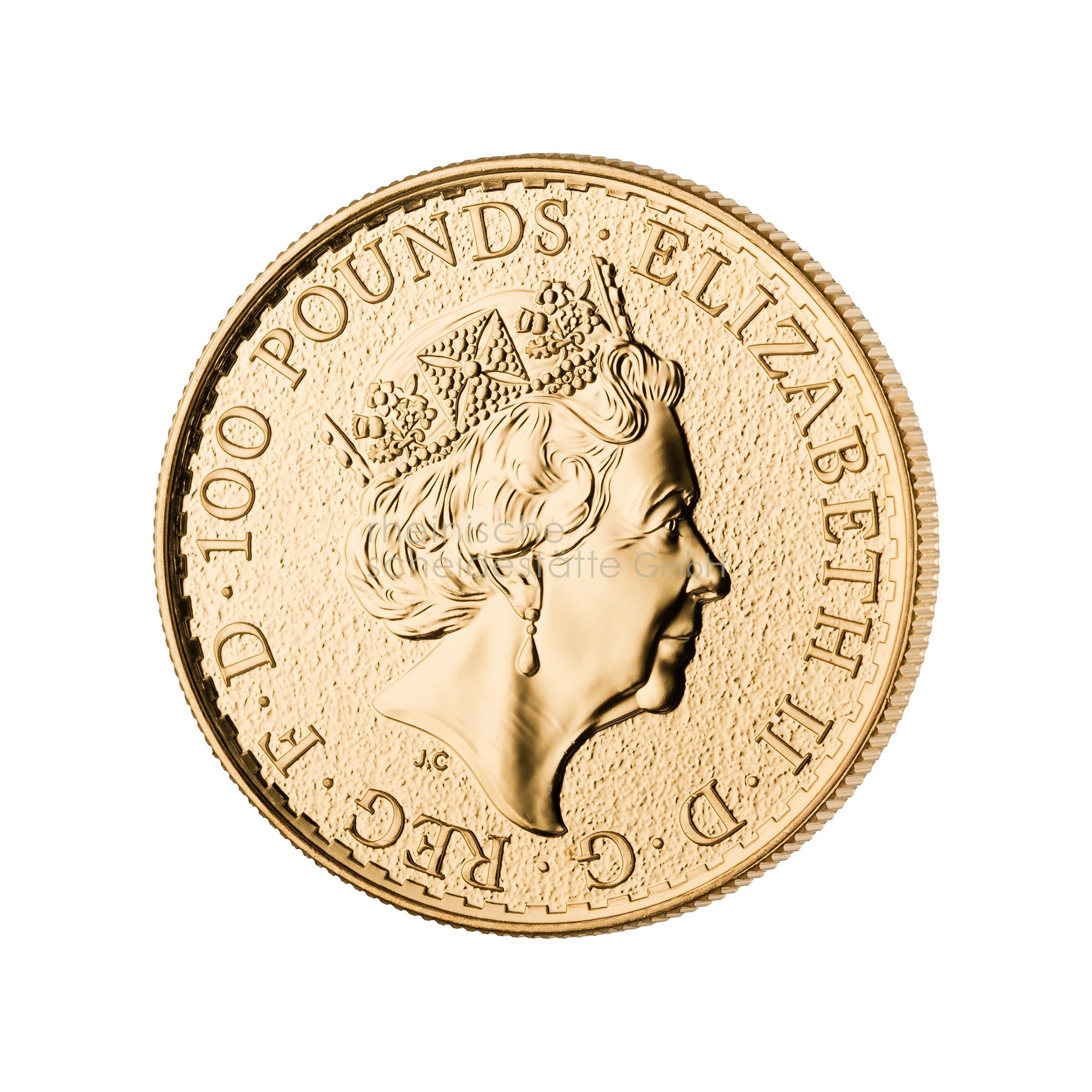 1 Unze Britannia Goldmünze b