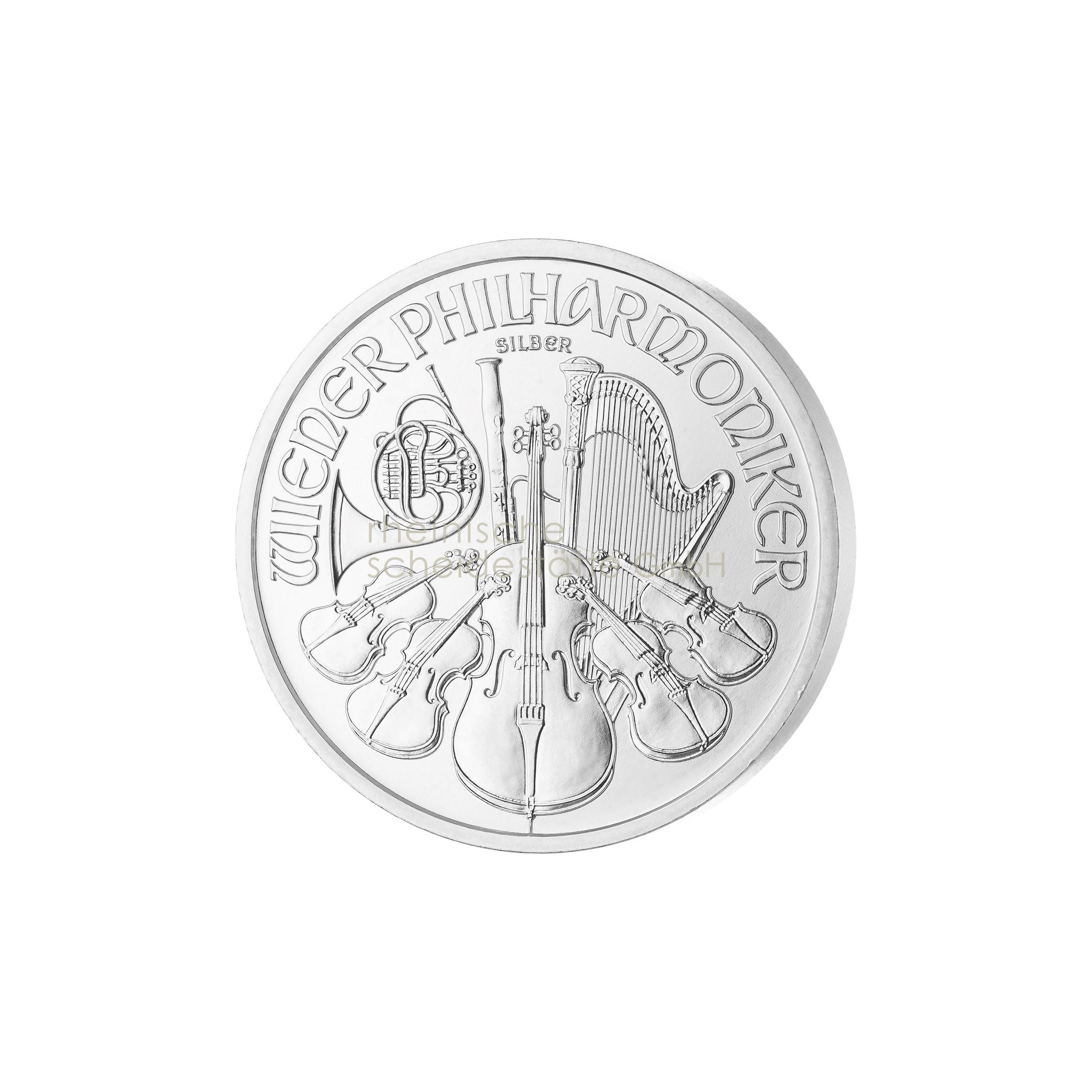 1 Unze Wiener Philharmoniker Silbermünze b