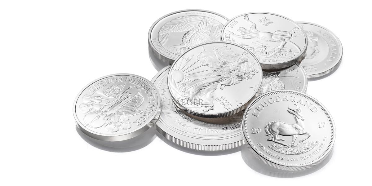Silbermünzen kaufen Angebote