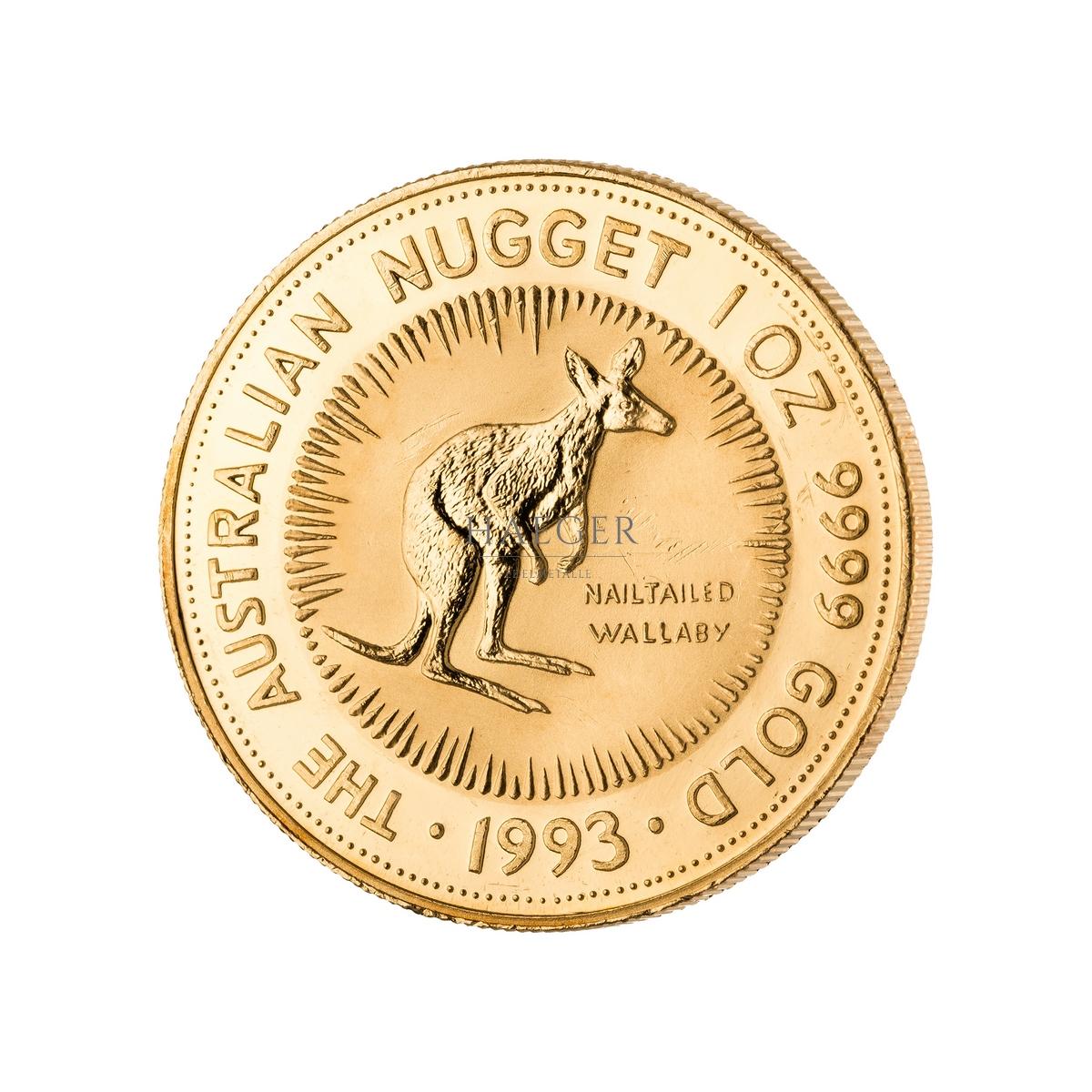 1 Unze Australian Kangaroo Goldmünze a