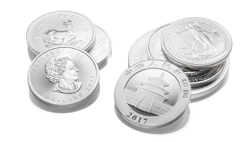Silbermünzen kaufen München Händler