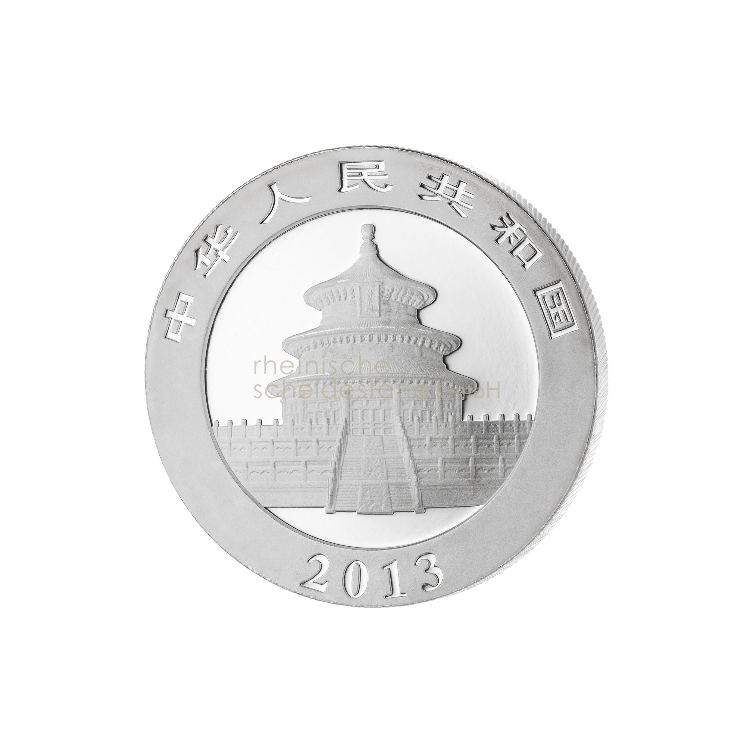 1 Unze China Panda Silbermünze 2