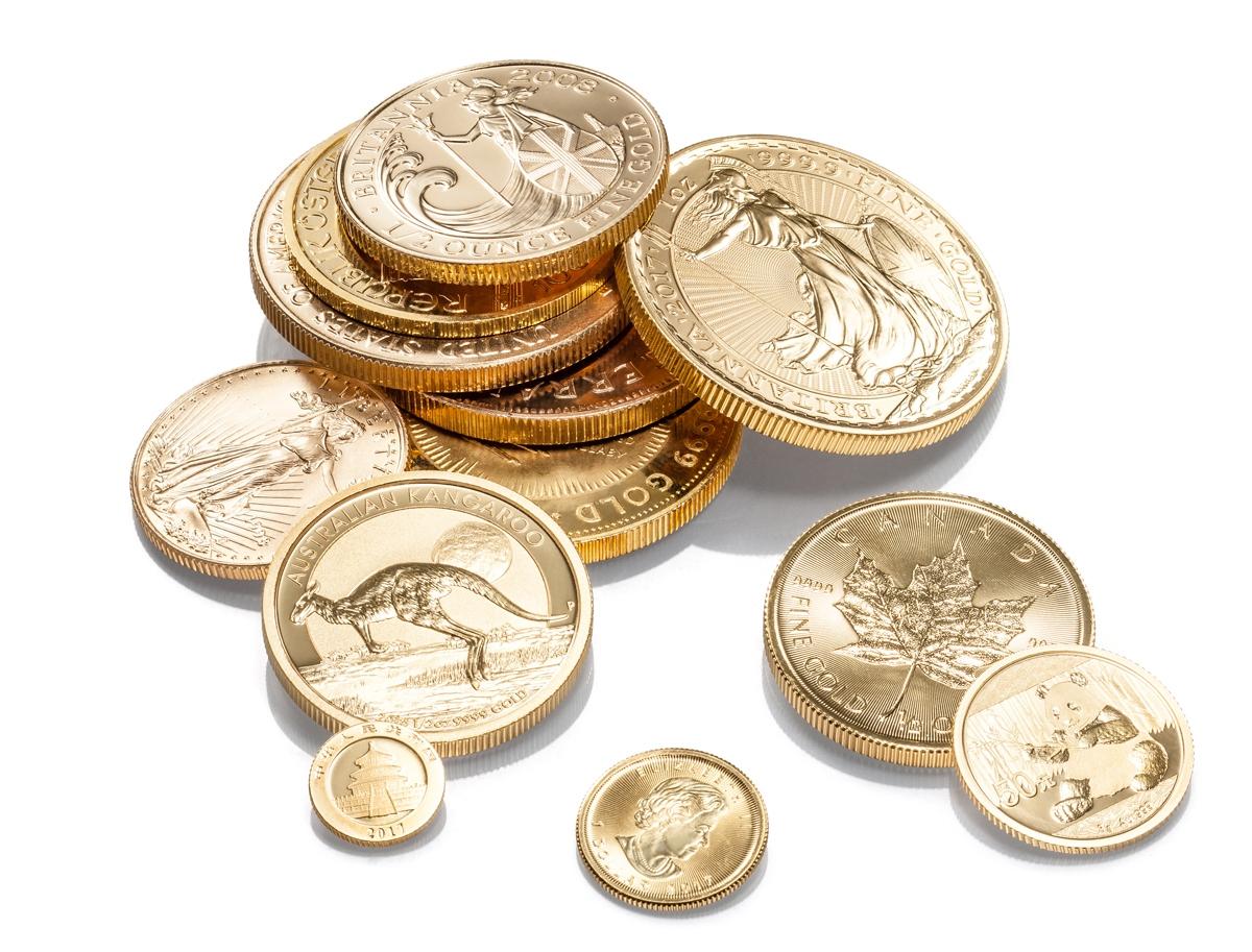 Goldmünzen kaufen Düsseldorf Angebot