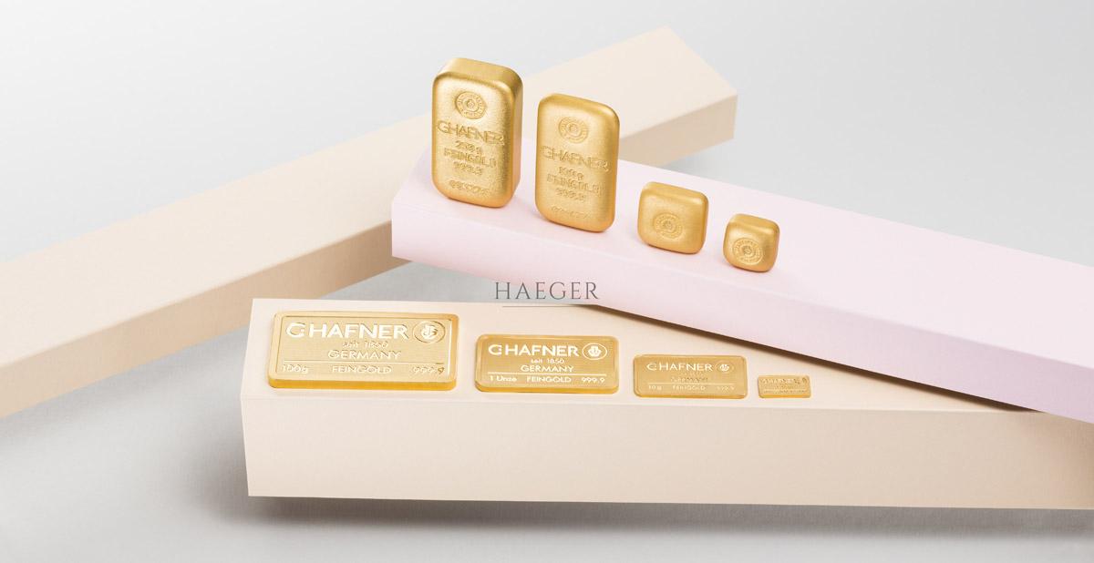 Goldbarren kaufen Investment
