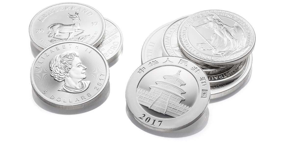 Silbermünzen kaufen Köln Angebot