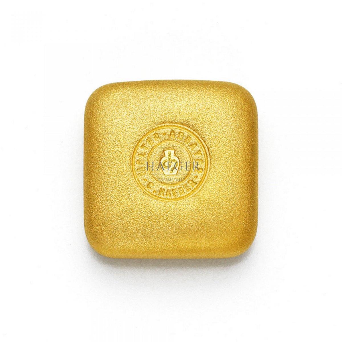 50 g C. Hafner Goldbarren Neuware