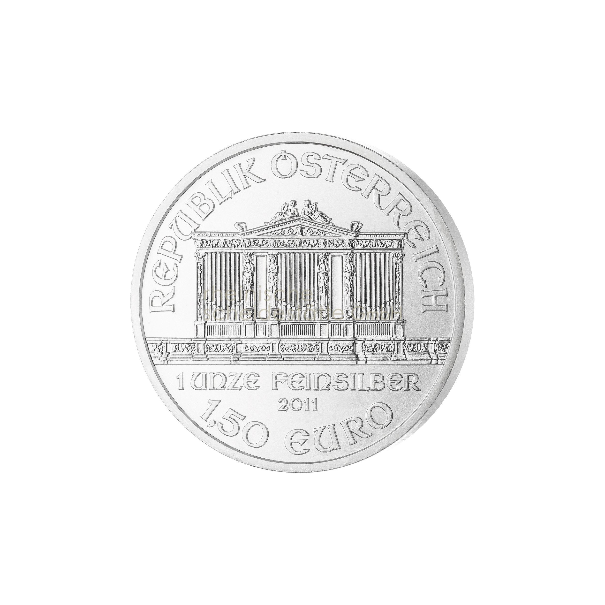 1 Unze Wiener Philharmoniker Silbermünze a