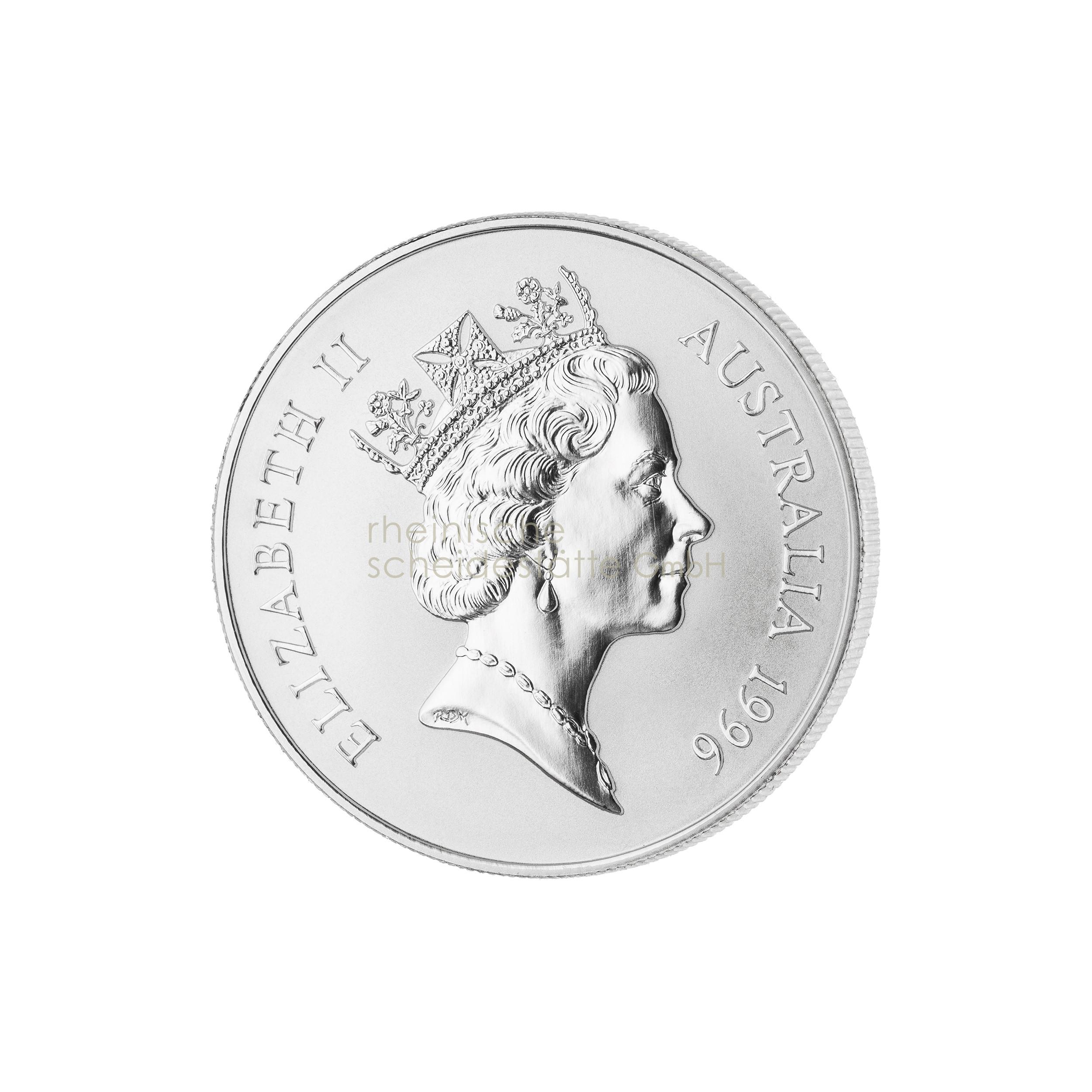 1 Unze Australian Kangaroo Silbermünze b