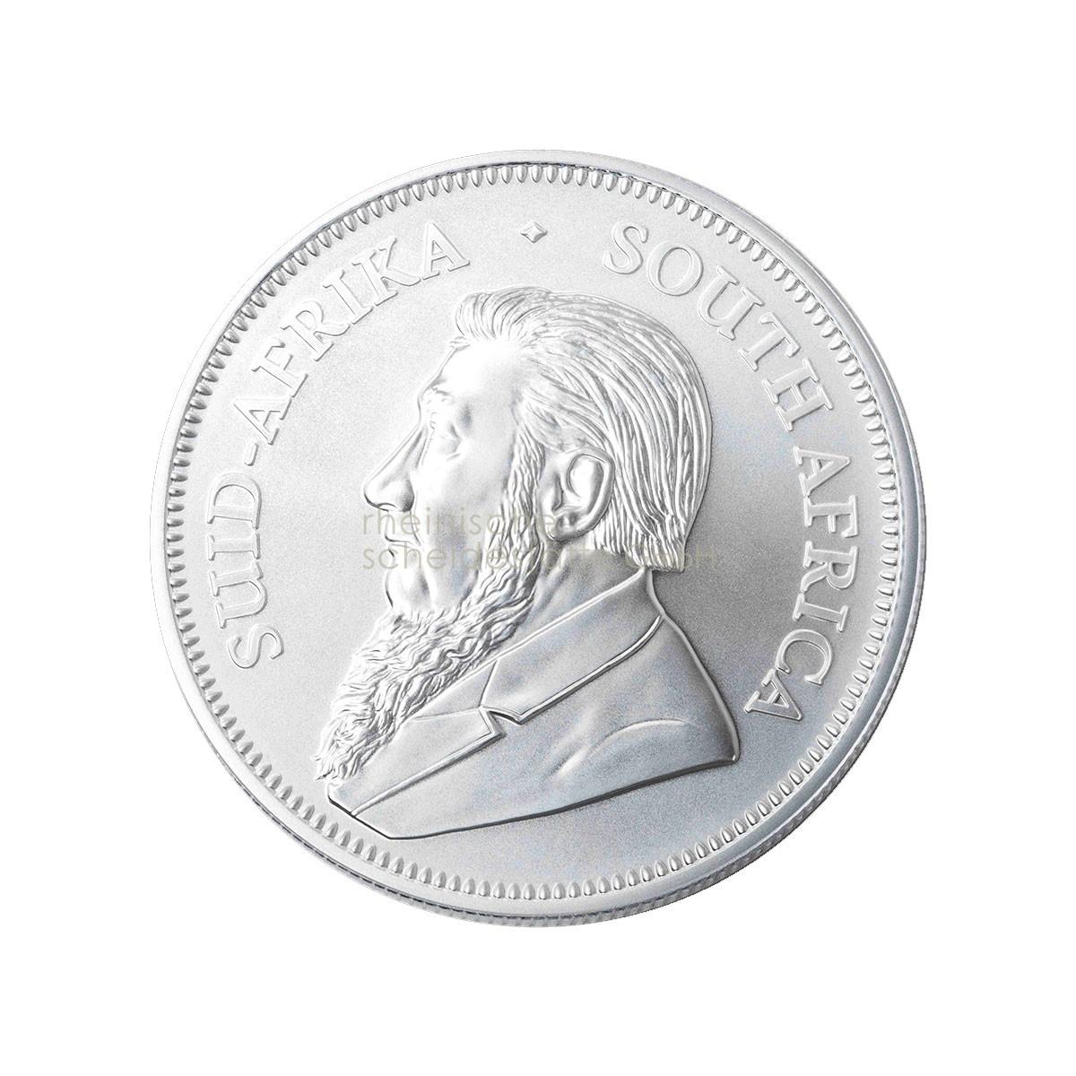 1 Unze Krügerrand Silbermünze b
