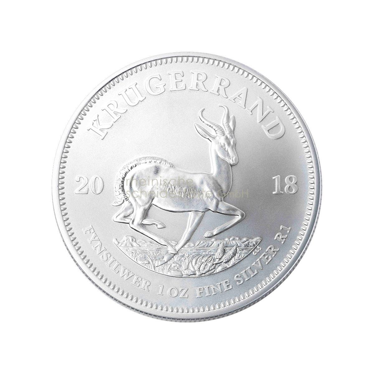 1 Unze Krügerrand Silbermünze a