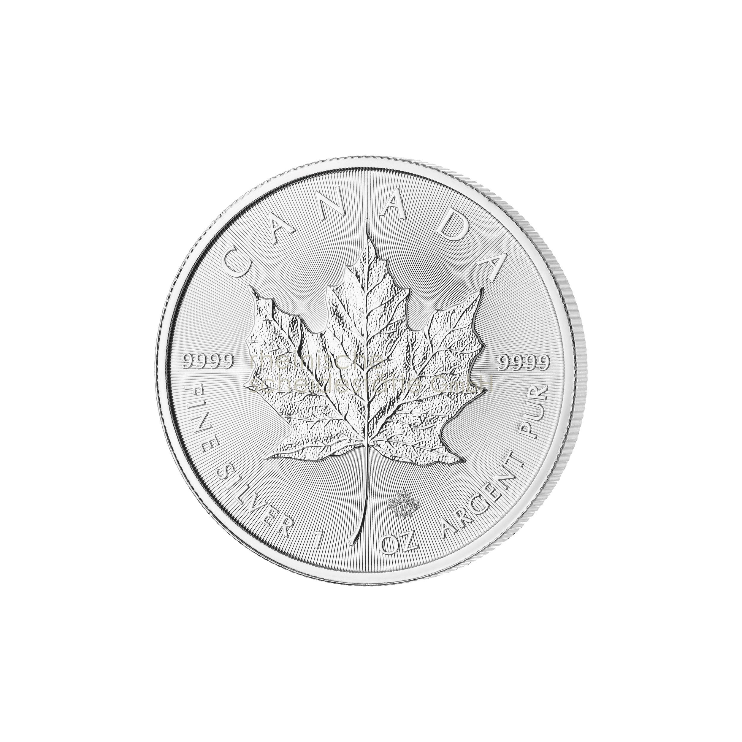 1 Unze Maple Leaf Silbermünze a
