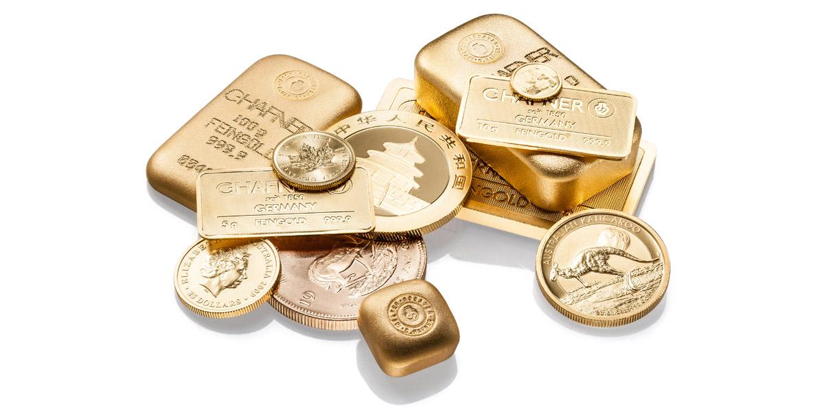 Goldbarren kaufen Anlage