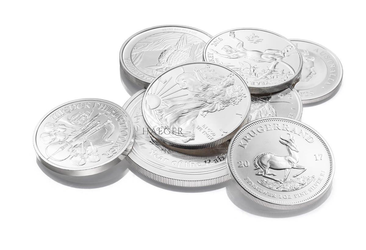 Silbermünzen kaufen Düsseldorf Händler