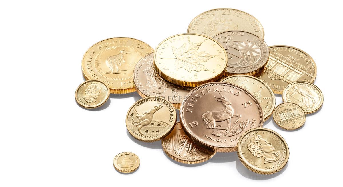 Goldmünzen kaufen Händler