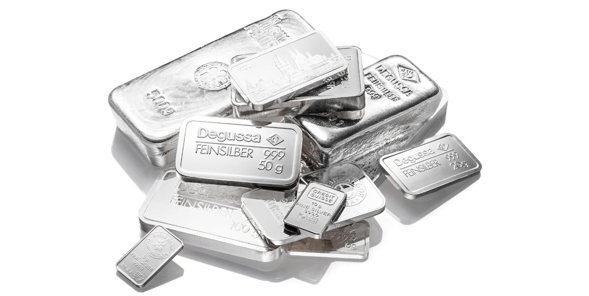 Silberbarren kaufen Köln Angebot