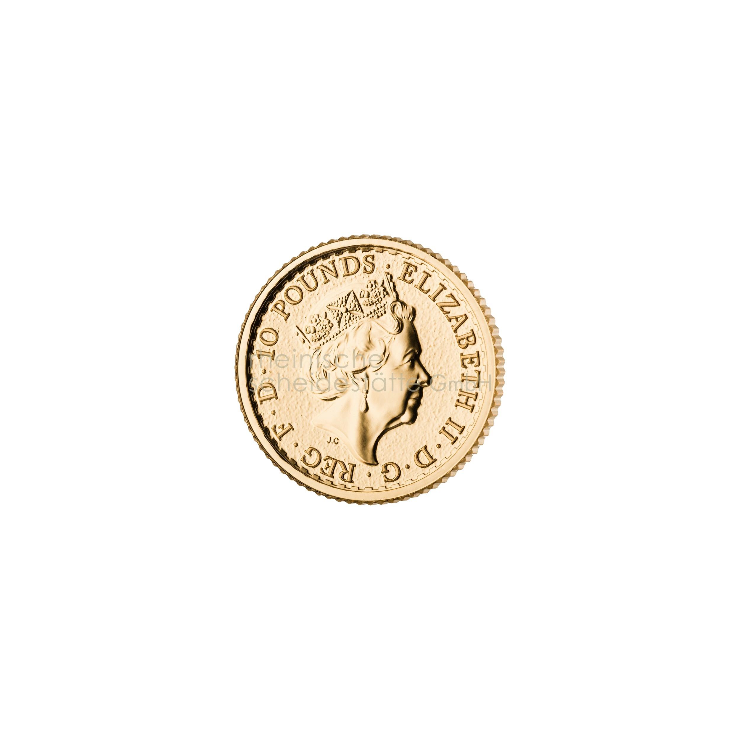 1/10 Unze Britannia Goldmünze b